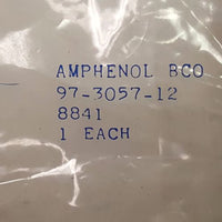 Amphenol Ind .97-3057-12 8841 Circular Strain Reliefs Cable Clamp