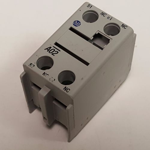 Allen-Bradley A02, Ser.B Contact Block 100-F, 10A, 2-NC Contacts