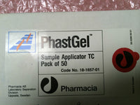 Amersham Biosciences Pharmacia Phastgel Sample Applicator TC, 18-1657-01, Qty 50