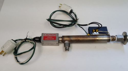Vacuum Heater Assembly, KF-25 Vacuum Fitting x 1/2 MPT, Stainless Steel, 1200W