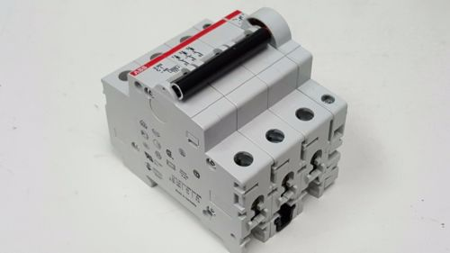 ABB S203-C1, 3 Pole, 1 Amp Circuit Breaker with Auxiliary Contact