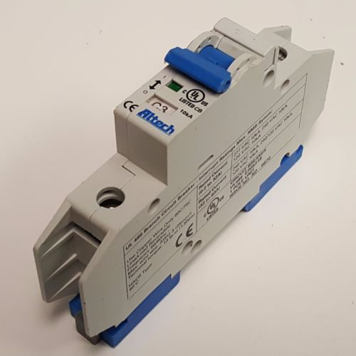Altech C3 Circuit Breaker E3035318, 3A, 480V, 1 Pole