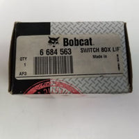 Bobcat 6 684 563 Switch Box LIF