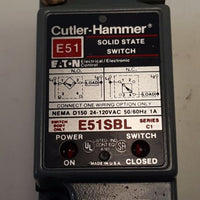 Cutler Hammer E51SBL Switch Body, Receptacle