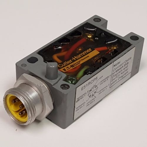 Cutler Hammer E51RCP5 Limit Switch Receptacle