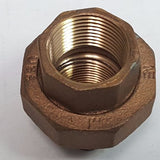 "1"" FPT Brass Union, NE, USA, Fitting"