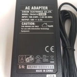Cincon TR45A18-02A03 Desktop AC Switching Adapter 18 Vdc, 2.5 A