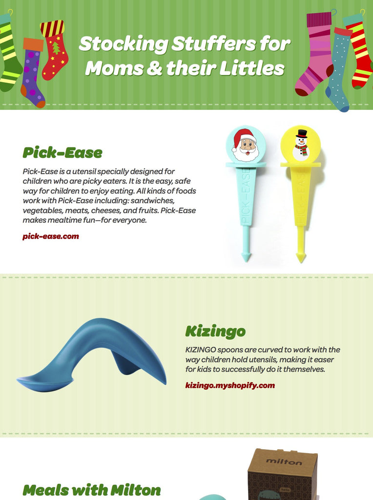 Stocking Stuffers for Moms & Their Littles