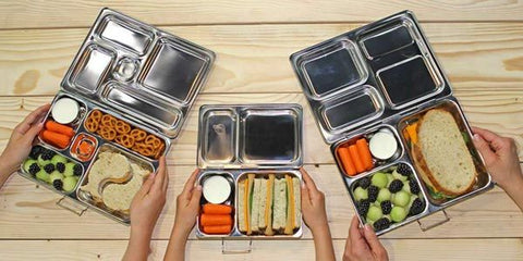 Pre-pack lunches to make meals and snacks easier while staying at home
