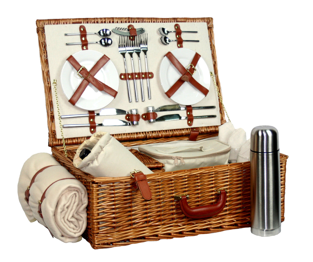 Deluxe Hamper for 4 - Eaton Hampers & Basketware