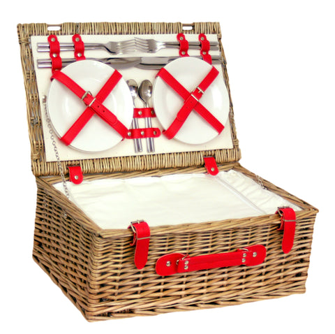 Red Chiller Hamper for 4 - Eaton Hampers & Basketware