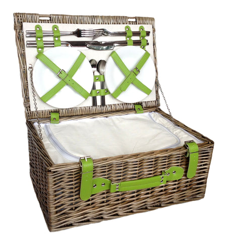 Green Chiller Hamper for 4 - Eaton Hampers & Basketware