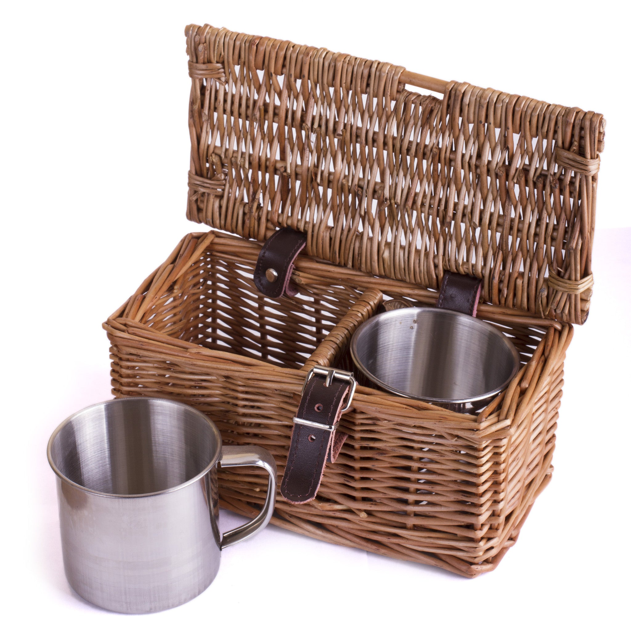 2 Cups and Case - Eaton Hampers & Basketware