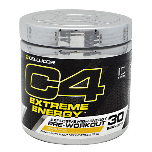 Cellucor iD Series C4 Extreme Energy - Lemon Drop - 30 Servings - 842595100556