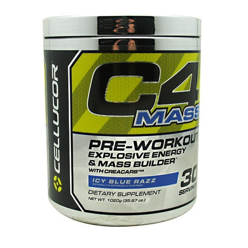 Cellucor C4 Mass - Blue Razz - 30 Servings - 810390025374