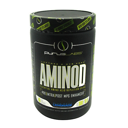 Purus Labs Amino.D. - Blue Raspberry Lemonade - 40 Servings - 855734002260