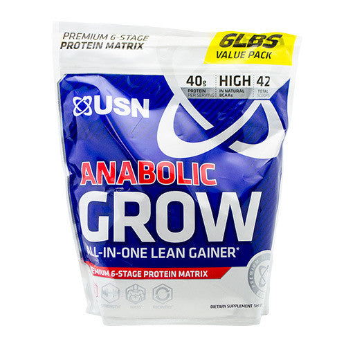 USN Anabolic Grow - Cookies & Cream - 6 lb - 6009544902645