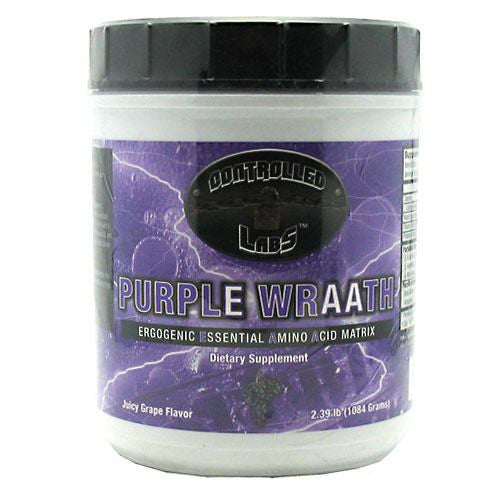 Controlled Labs Purple Wraath - Juicy Grape - 2.1 lb - 895328001323