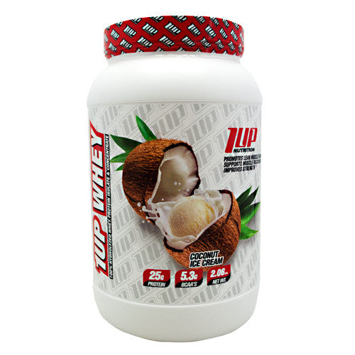 1 UP Nutrition 1UP Whey - Coconut Ice Cream - 2.06 lbs - 019962836039