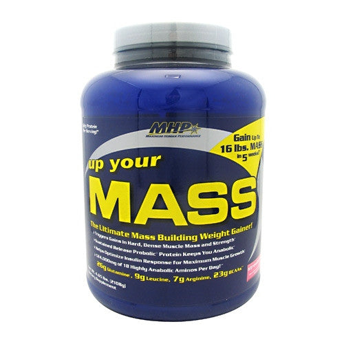 MHP Up Your Mass - Strawberry - 17 Servings - 666222093581