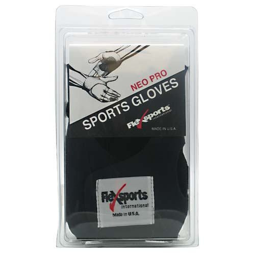Flexsports International Neo Pro Sports Gloves Black - X-Small -   - 718774349224