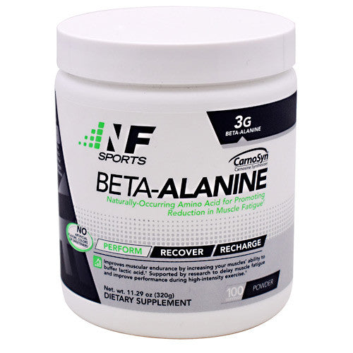 NF Sports Beta-Alanine - Unflavored - 100 Servings - 850666007123