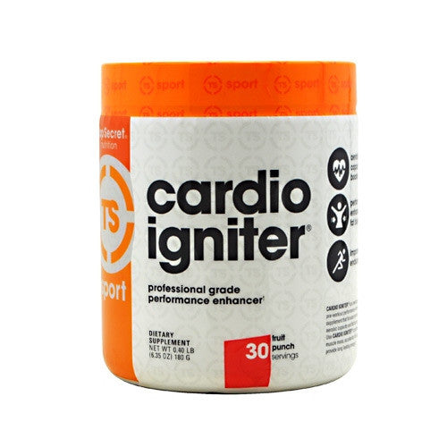 Top Secret Nutrition Cardio Igniter - Fruit Punch - 30 Servings - 811226021010