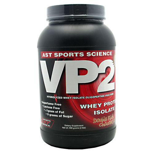 AST Sports Science VP2 Whey Protein Isolate - Double Rich Chocolate - 2 lb - 705077002833