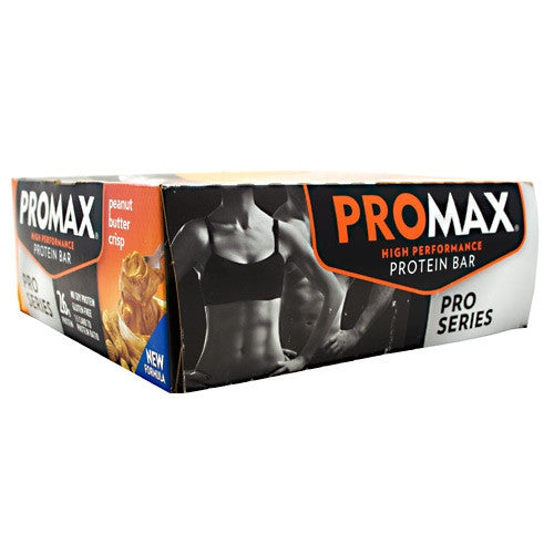 Promax Pro Series Promax Bar - Peanut Butter Crisp - 12 Bars - 743659190219