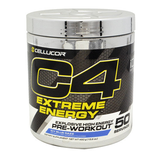 Cellucor iD Series C4 Extreme Energy - Icy Blue Razz - 50 Servings - 842595100563