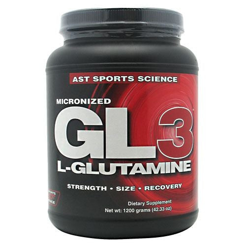 AST Sports Science Micronized GL3 L-Glutamine - 1200 g - 705077002574