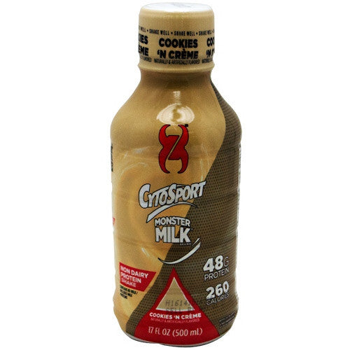 CytoSport Monster Milk RTD - Cookies N Cream - 12 ea - 876063007146