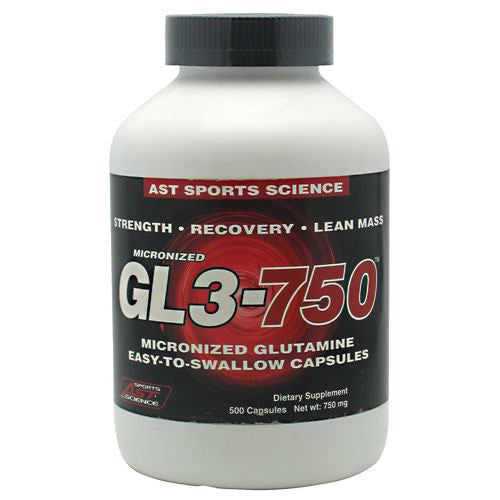 AST Sports Science Micronized GL3 750 - 500 Capsules - 705077002680