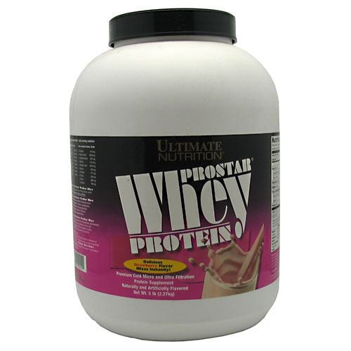 Ultimate Nutrition ProStar Whey Protein - Strawberry - 5 lb - 099071001504