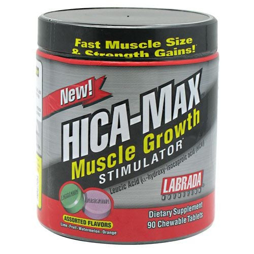 Labrada Nutrition HICA-Max - Assorted Flavors - 90 Tablets - 710779333529