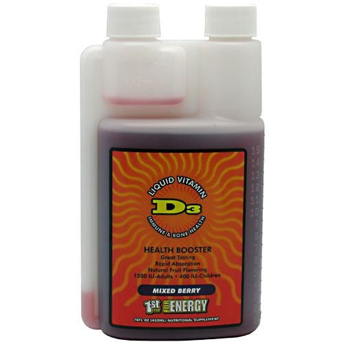 1st Step for Energy Liquid Vitamin D3 - Mixed Berry - 16  - 673131982318