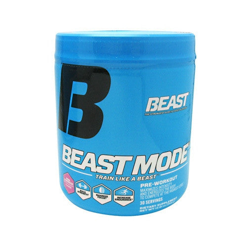 Beast Sports Nutrition Beast Mode - Pink Lemonade - 30 Servings - 631312799810