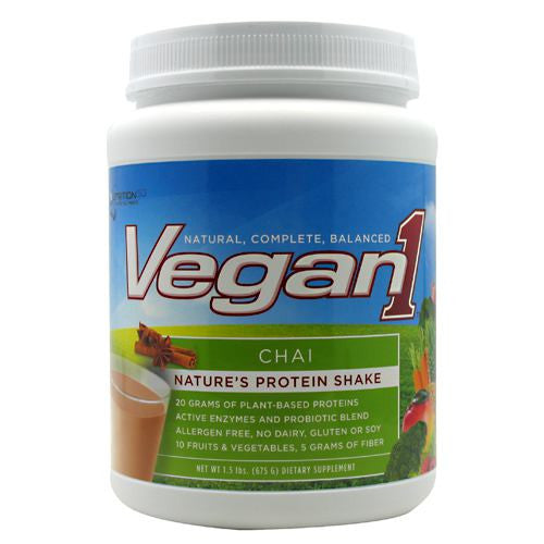 Nutrition53 Vegan1 - Chai - 1.5 lb - 810033011511