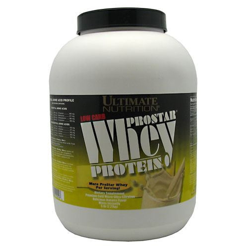 Ultimate Nutrition ProStar Whey Protein - Banana - 5 lb - 099071001436