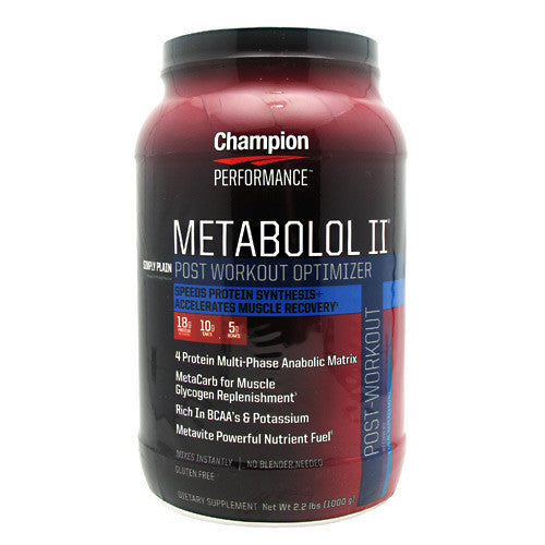Champion Nutrition MET2 - Plain - 2.2 lb - 027692101006