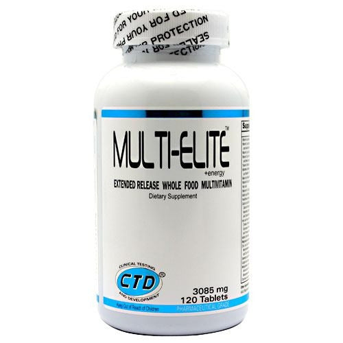 CTD Multi-Elite+Energy - 120 Tablets - 094922284358
