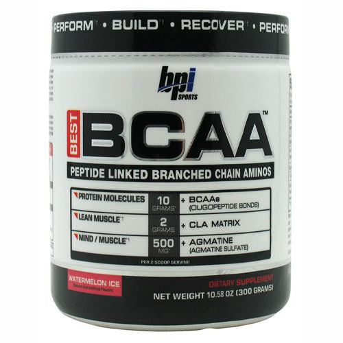 BPI Best BCAA - Watermelon Ice - 30 Servings - 851780006337