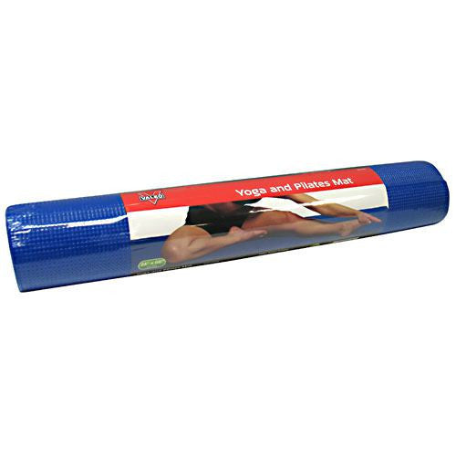 Valeo Yoga and Pilates Mat - Blue - 1 ea - 736097449230