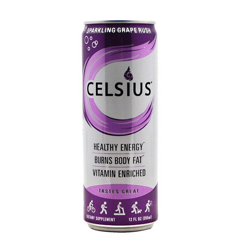Celsius Celsius - Sparkling Grape Rush - 12 Cans - 889392000580