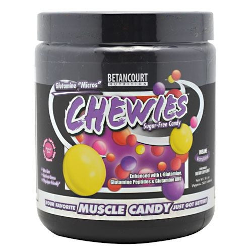 Betancourt Nutrition Chewies Glutamine Micros - Berry Blend - 21 Servings - 857487003181