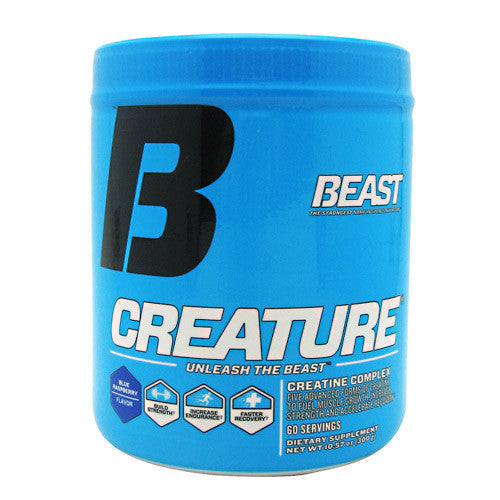 Beast Sports Nutrition Creature - Blue Raspberry - 60 Servings - 631312801414