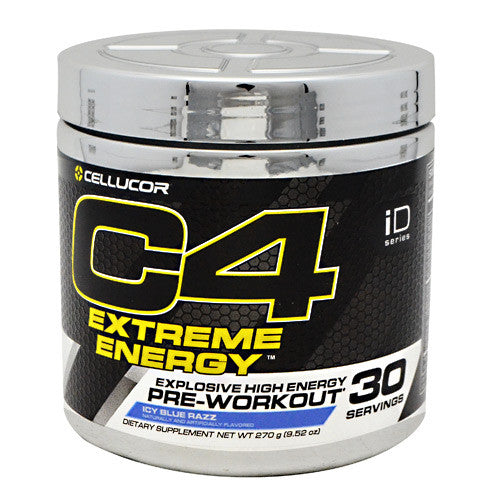 Cellucor iD Series C4 Extreme Energy - Icy Blue Razz - 30 Servings - 842595100570