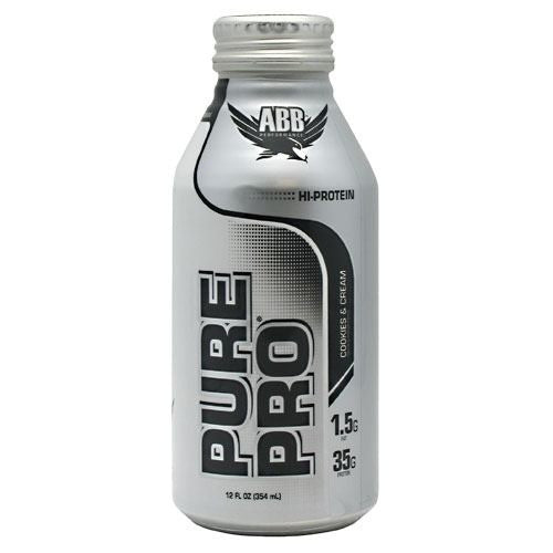 ABB Pure Pro - Cookies & Cream - 12 Bottles - 00045529856707