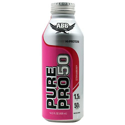 ABB Pure Pro 50 - Strawberry - 12 Cans - 00045529889675