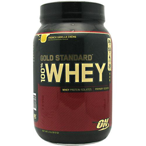 Optimum Nutrition Gold Standard 100% Whey - French Vanilla Creme - 2 lb - 748927024111